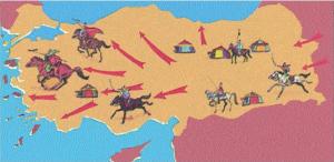Türklerden Önce Anadolu'nun Durumu ve İlk Türk Akınları