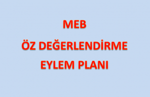 MEB Öz Değerlendirme Eylem Planı İndir