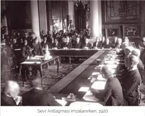 Sevr Barış Antlaşması (10 Ağustos 1920)