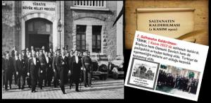 Saltanatın Kaldırılması (1 Kasım 1922)