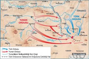 Sakarya Meydan Muharebesi (23 Ağustos-13 Eylül 1921)