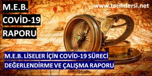 MEB Lise Covid-19 Raporu