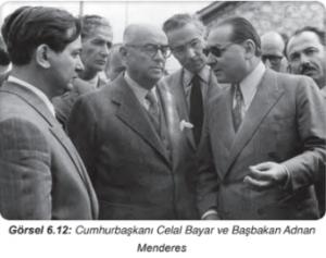 Konu 3: 1950'ler Türkiye'sinde Meydana Gelen Siyasi, Sosyal ve Ekonomik Gelişmeler