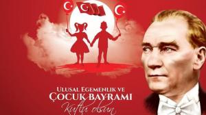 23 Nisan Ulusal Egemenlik ve Çocuk Bayramı Kompozisyon